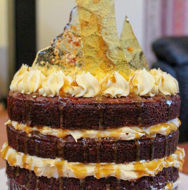 Sticky Date Cake With Caramel Frosting