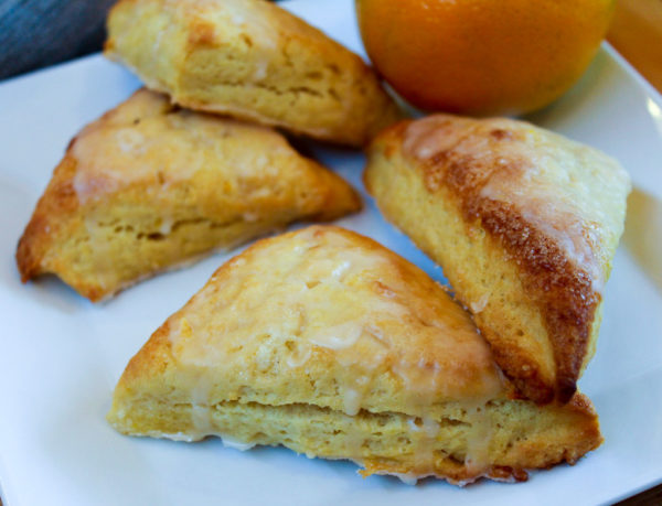 Orange Glazed Scones – Icing On The Steak