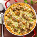 Baked Macaroni & Meatballs