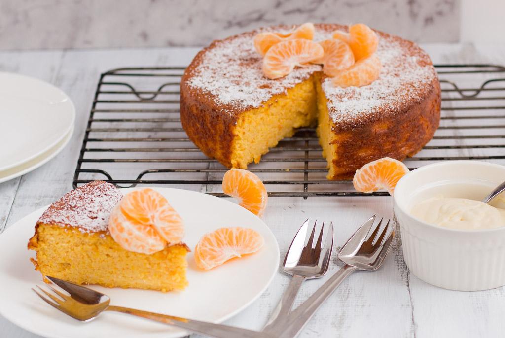 Mandarin And Almond Cake Recipe