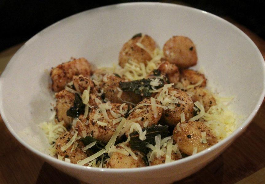 Chicken & Gnocchi With Burnt Sage Butter