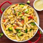 Pork Sausage & Broccoli Rigatoni