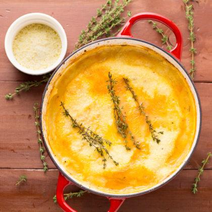 Shepherd's Pie With Parmesan Mash